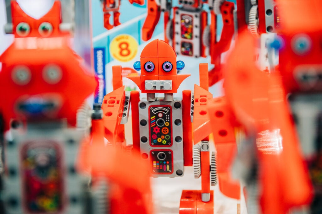 robot factory at toy fair 2020
