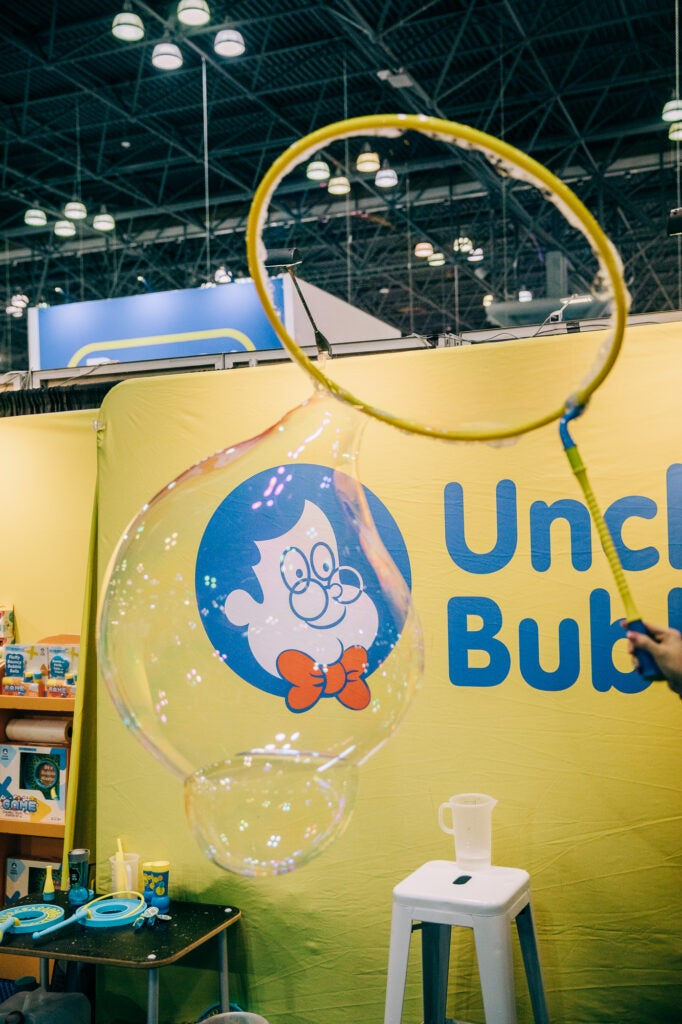 Uncle Bubble at Toy Fair 2020