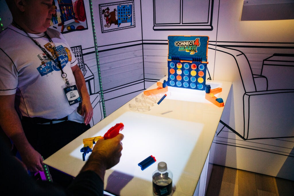 Connect 4 at Toy Fair 2020