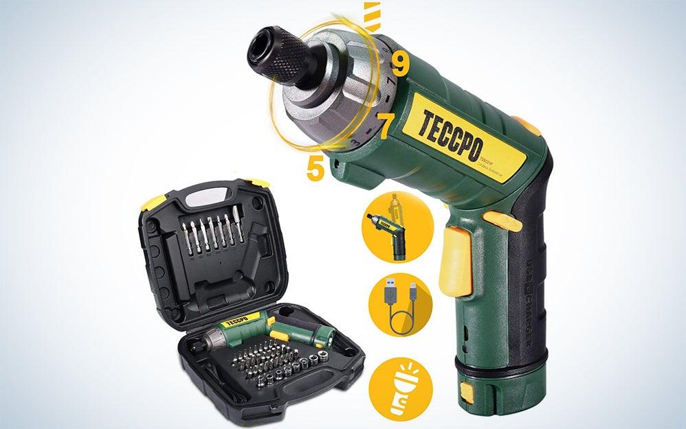 Teccpo Electric Screwdriver