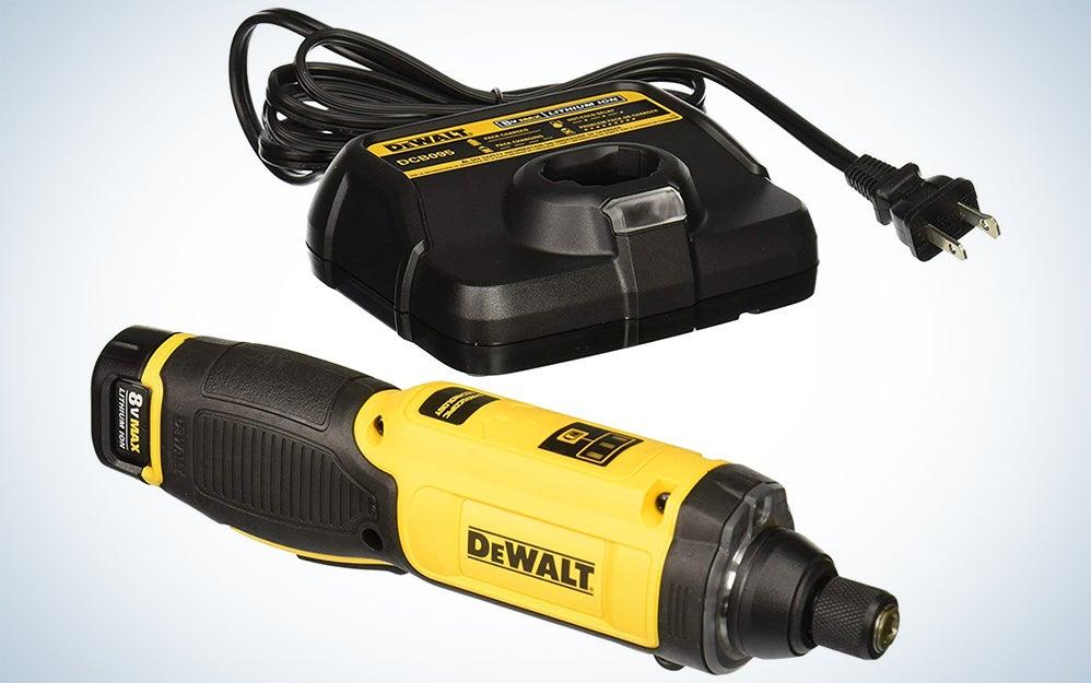 Dewalt 8V MAX Cordless Gyroscopic Screwdriver Kit