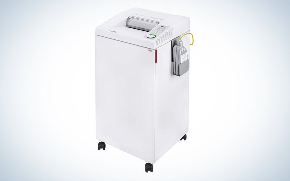 Ideal 2604 P-4 Office Shredder with Automatic Oiler
