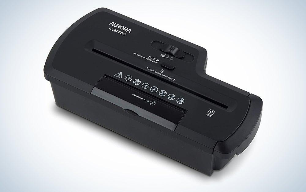 Aurora AU800SD Portable Strip Cut Shredder