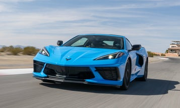 Strapping into the 2020 Chevrolet Corvette Stingray to take turns at 1.3 Gs