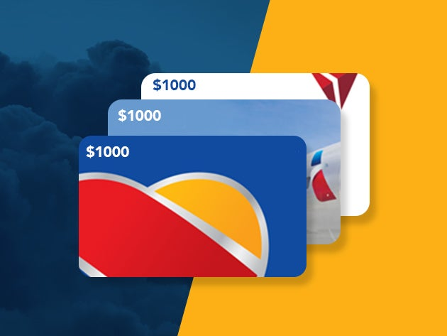 Airline Gift Card Giveaway