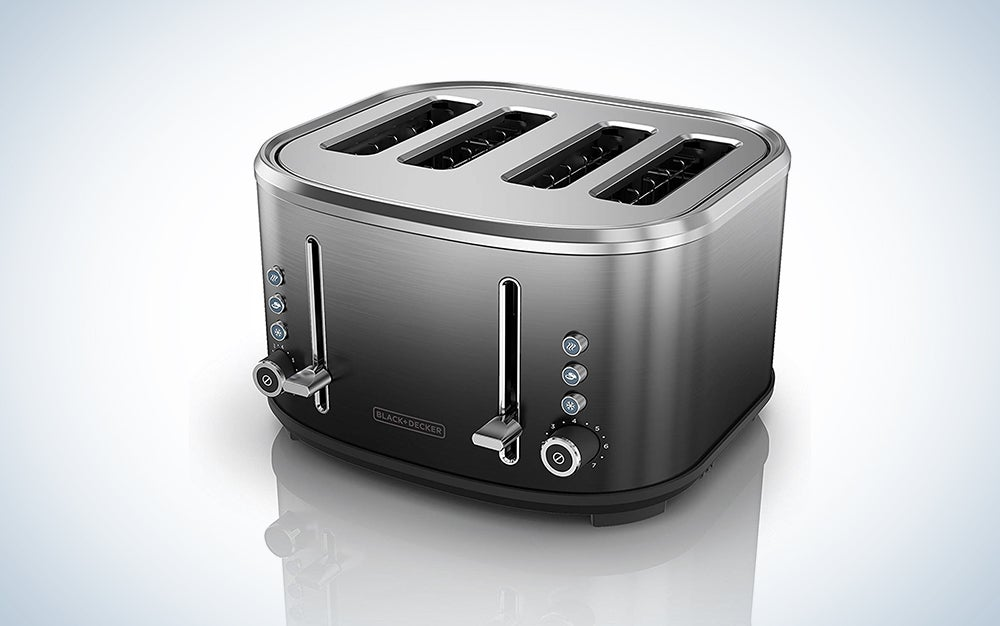 Black + Decker 4-Slice Extra Wide Toaster