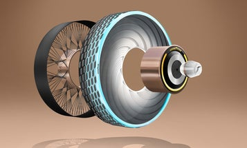 Tires of the future could customize themselves to driving conditions