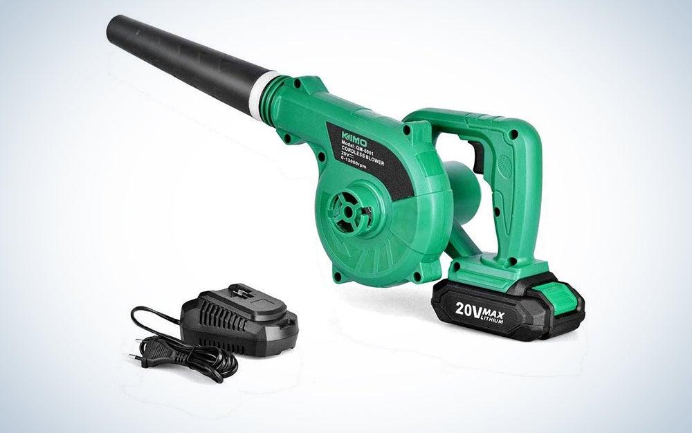 Kimo 20V Battery-Powered Leaf Blower
