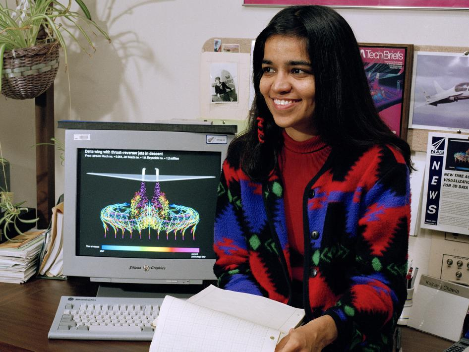 NASA astronaut Kalpana Chawla died in the Space Shuttle Columbia disaster in 2003.