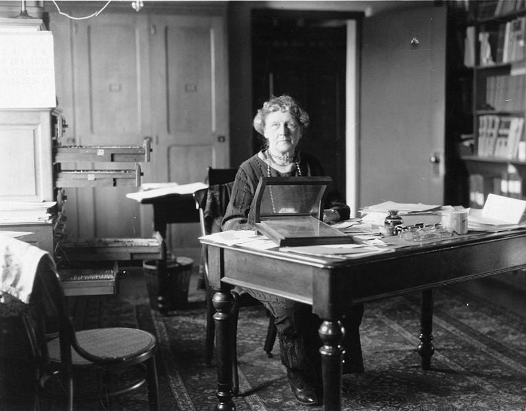 Annie Jump Cannon was a computer in the early 1900s at the Harvard Observatory.