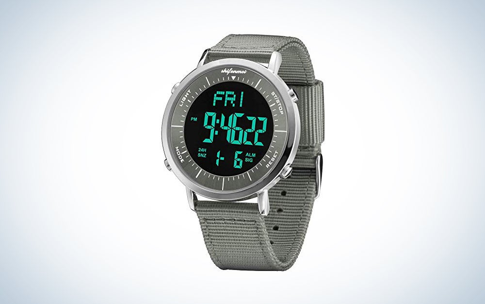 Digital Sports Watches, shifenmei Military Cool Waterproof Mens Digital Watch Alarm Stopwatch Countdown Date Wrist Watches with Large Face Led Backlight for Men Women Kids Unisex