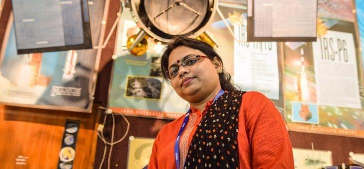 Ritu Karidhal is the deputy operations director at the Indian Space Research Organization