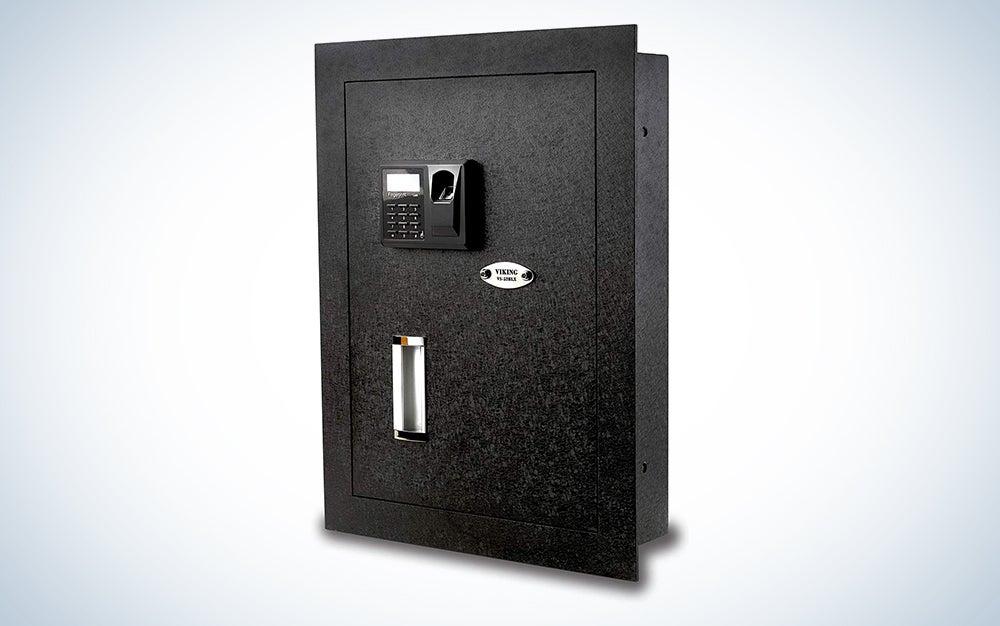 Viking Security Safe VS-52BLX Biometric Fingerprint Hidden Wall Safe