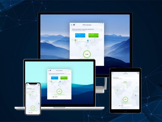 KeepSolid VPN Unlimited: Lifetime Subscription