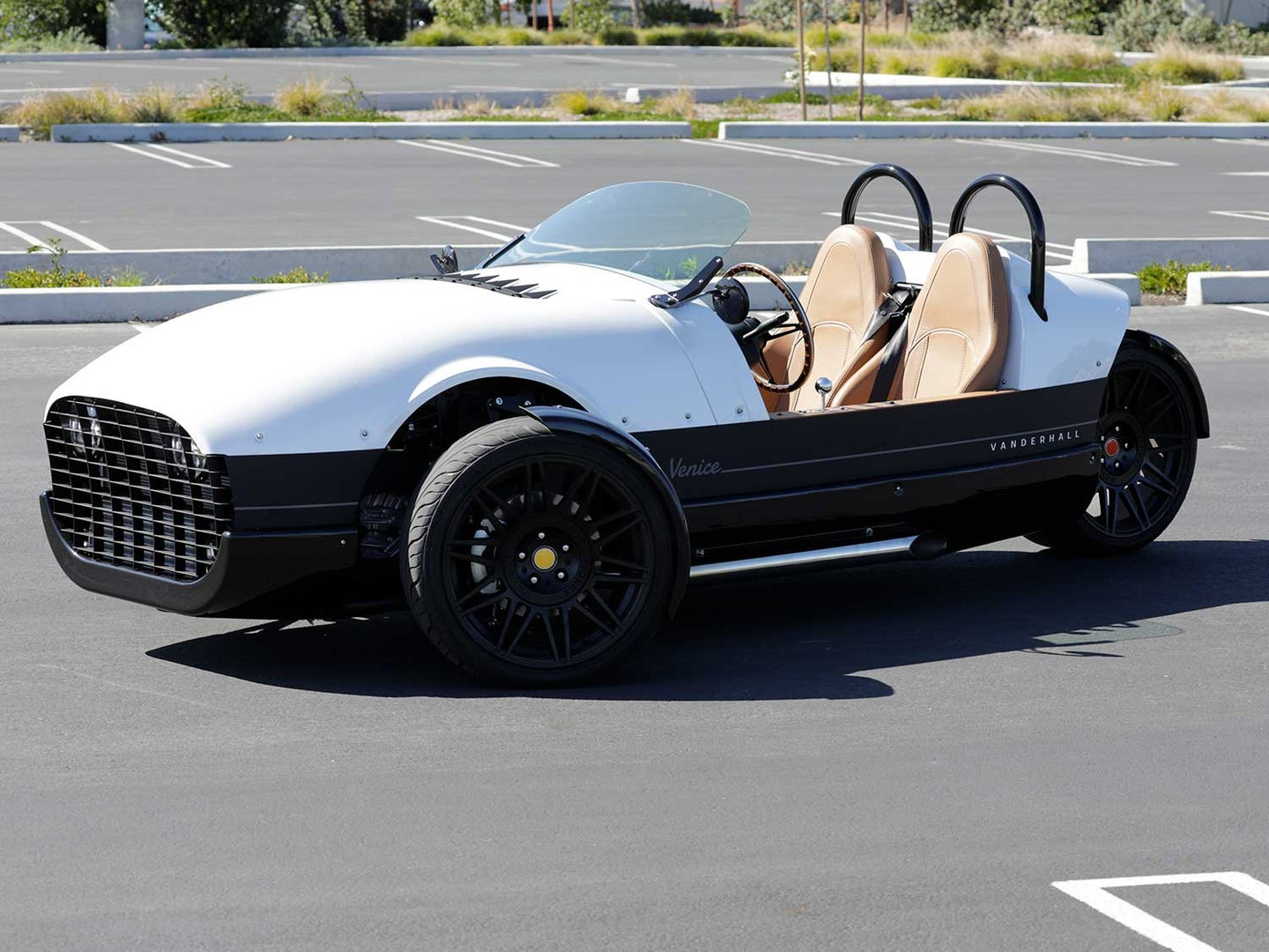 A Vanderhall what? We go for a ride, er, drive, in Vanderhall Motor Works' premium Venice GT reverse trike.