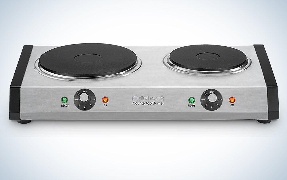 Cuisinart CB-60P1 Cast-Iron Double Burner