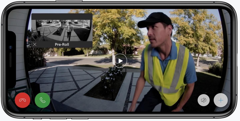 Ring Pre-Roll video doorbell