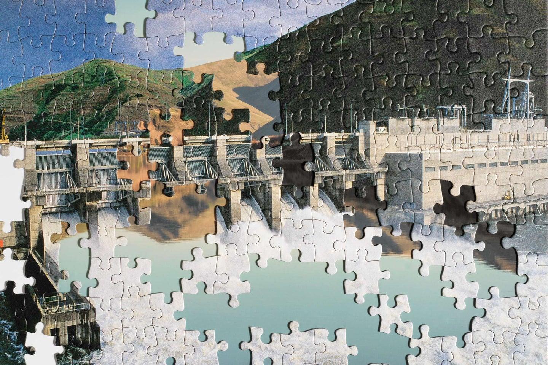River dam puzzle