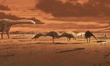 Ancient Stegosaurus relatives wandered across the Scottish highlands