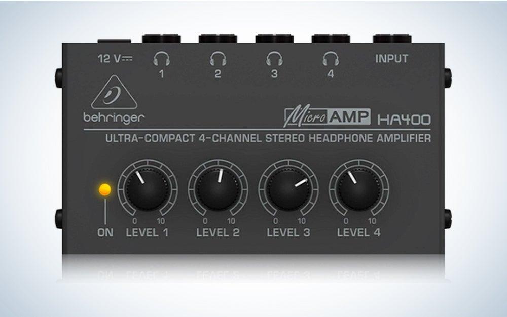 Behringer Microamp HA400 Stereo Headphone Amplifier