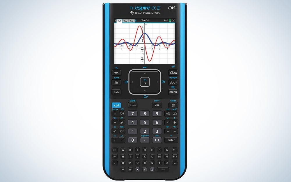 Texas Instruments TI-Nspire CX II CAS Color Graphing Calculator with Student Software