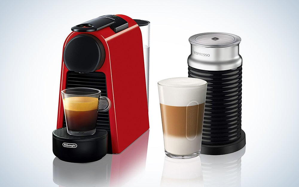 Nespresso by De'Longhi Essenza Mini Original Espresso Machine Bundle