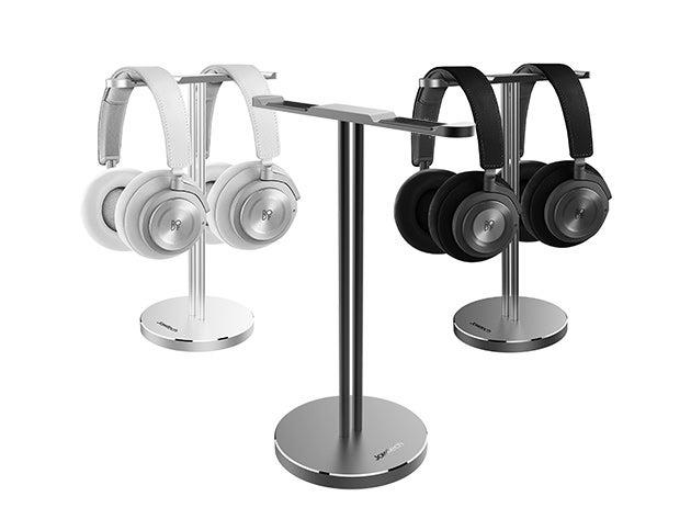 Jokitech Aluminum Universal Dual Headset Stand