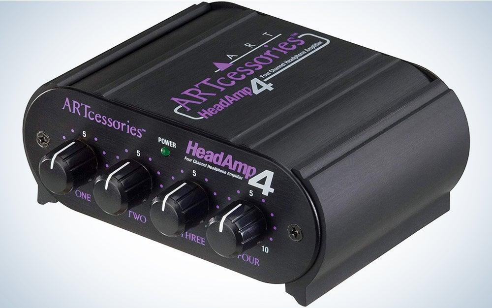 ART HeadAMP4 Stereo Headphone Amplifier