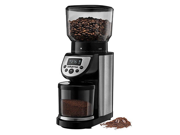 Gourmia® GCG205 14-Oz Automatic Conical Burr Grinder