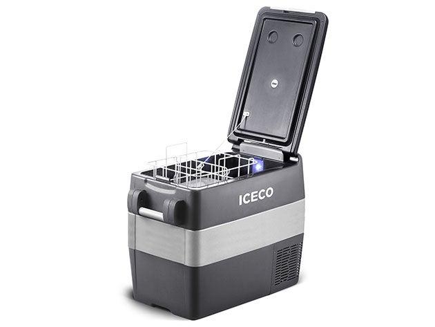 ICECO JP: 50L Portable Fridge Freezer with SECOP Compressor