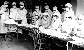 What the 1918 flu pandemic can teach us about COVID-19, in four charts
