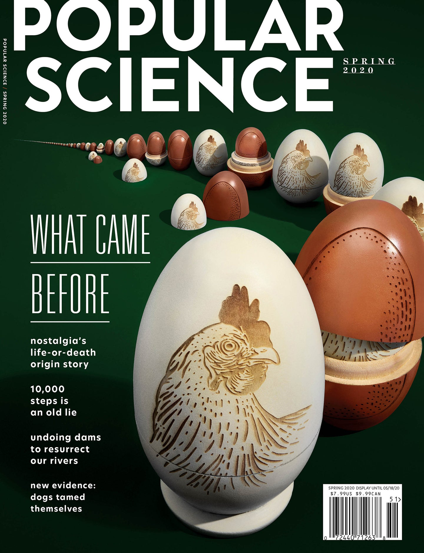 Popular Science Spring 2020 issue cover