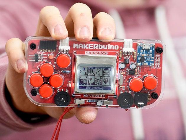 MAKERbuino Educational DIY Game Console