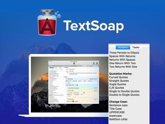TextSoap Mac App: Automate Tedious Text