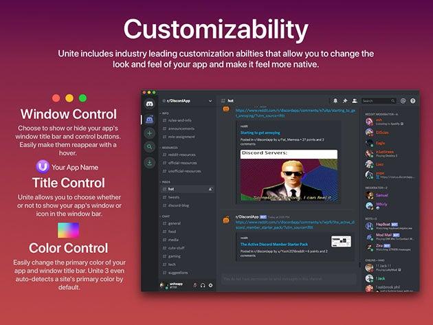 Unite 3: Website-to-App Tool for Mac
