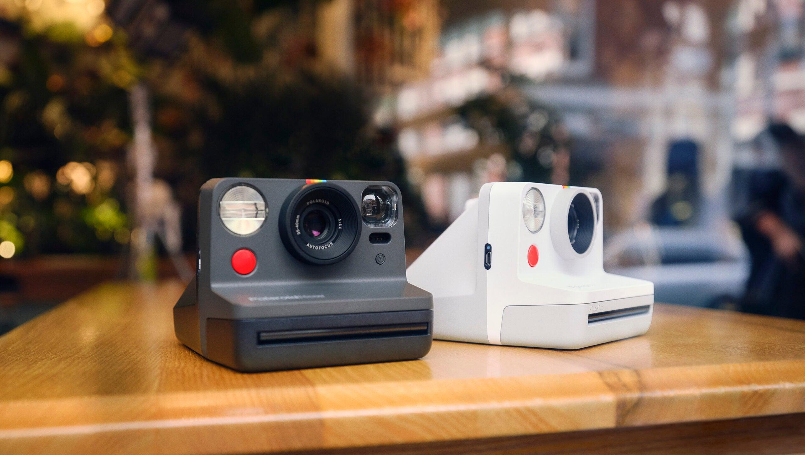 Polaroid instant camera, Polaroid Now.