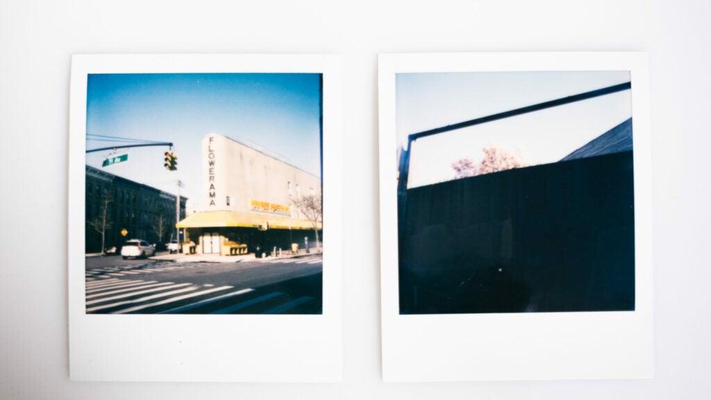 Empty streets in Ridgewood, Queens.