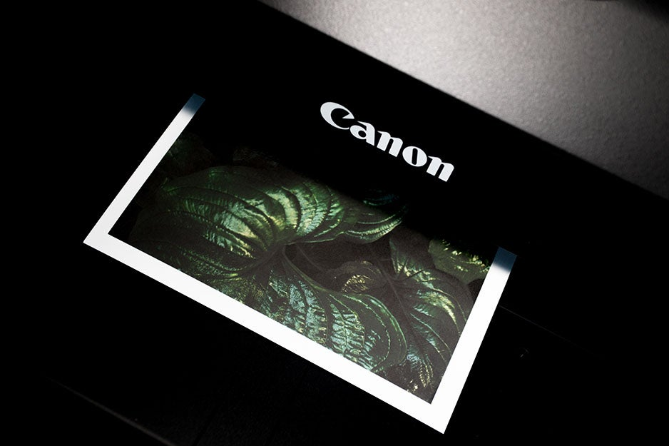 photo printing from a printer