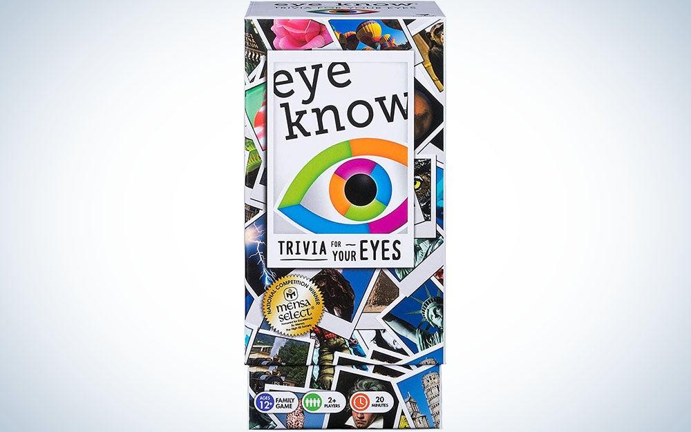 Eye Know Trivia Card Game