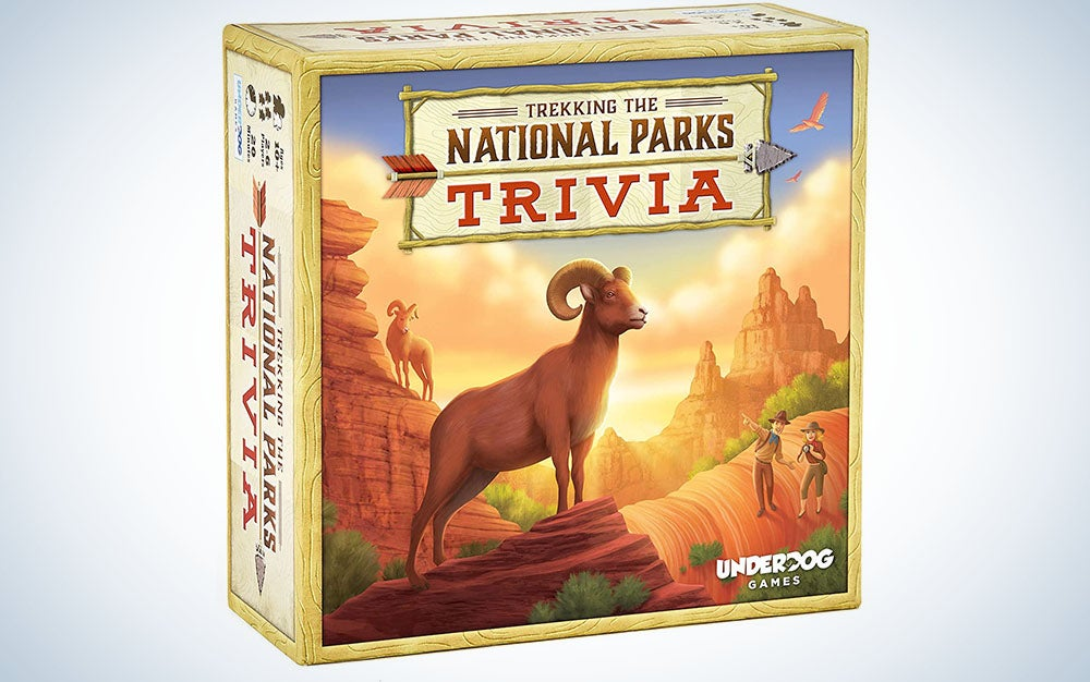 Trekking The National Parks: The Family Trivia Game