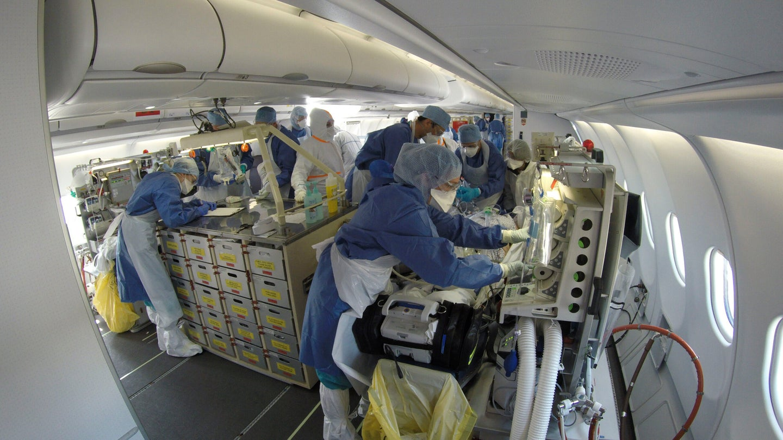 Morphee French flying hospital