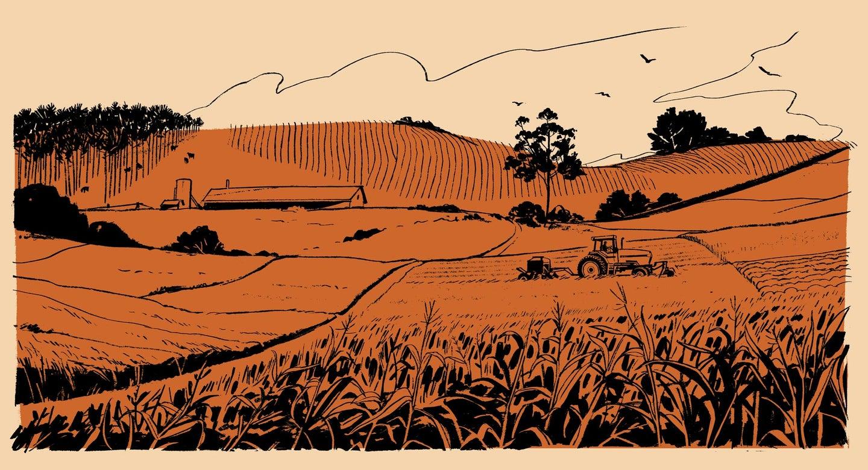 Patrick Leger illustration