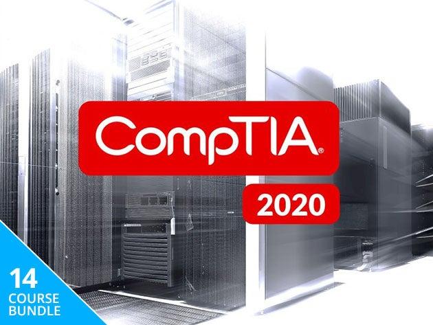 The Complete 2020 CompTIA Certification Training Bundle