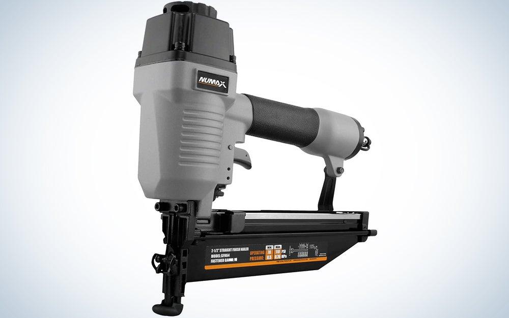 NuMax SFN64 Pneumatic 16-Gauge 2-1/2″ Straight Finish Nailer