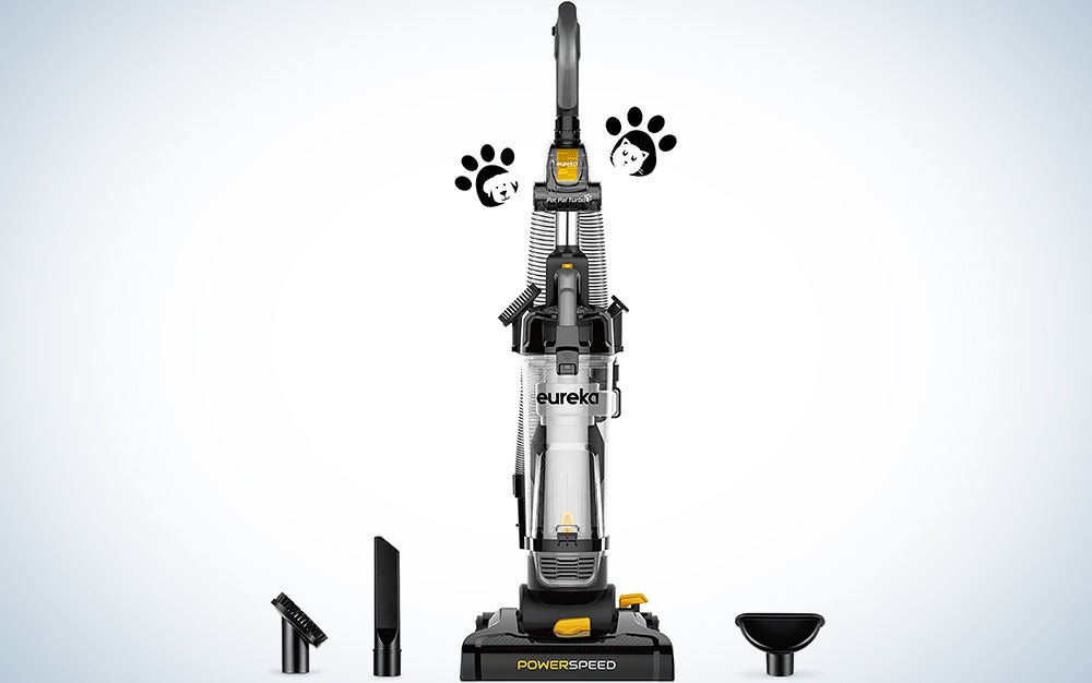 Eureka PowerSpeed Bagless Upright Vacuum Cleaner, Pet Turbo