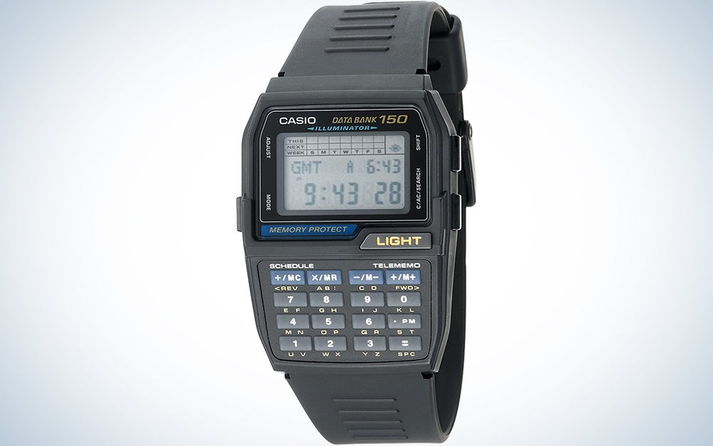 Casio Collection DBC-32-1AES Digital Watch for Men With Calculator