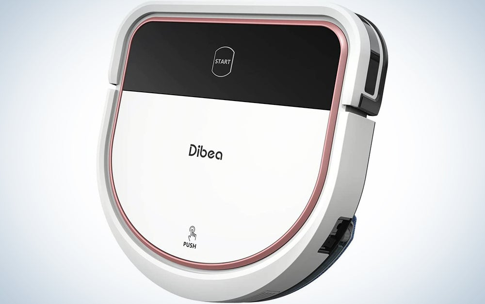 Dibea Robotic Vacuum Cleaner 2 in 1 Vacuuming and Mopping Robot D-Shape