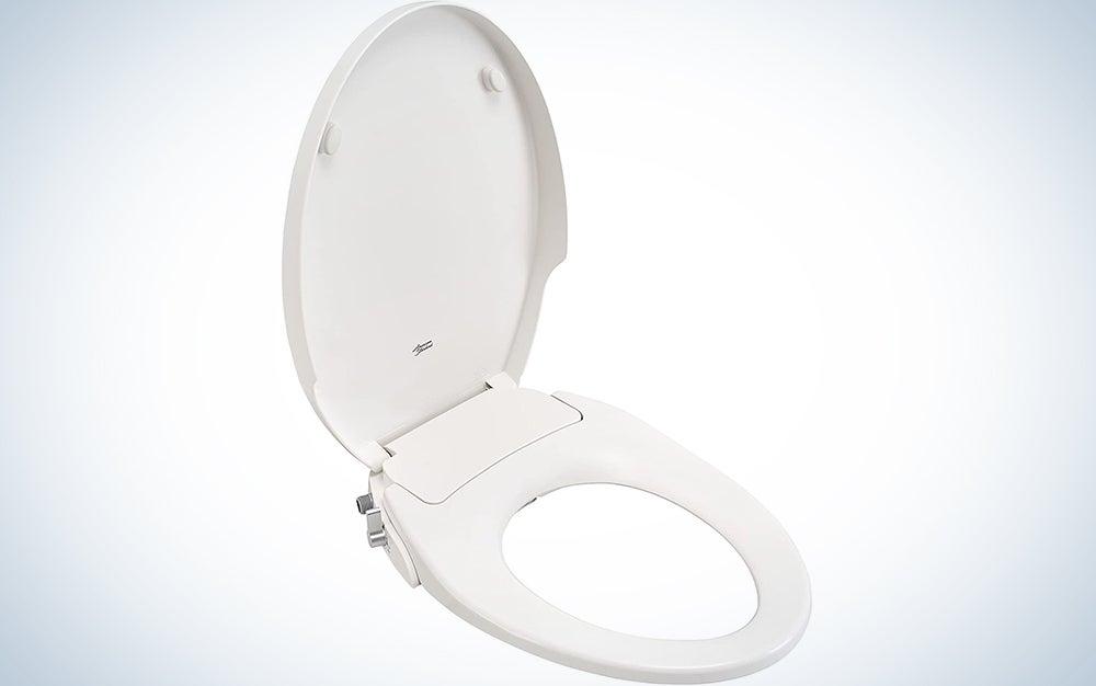 American Standard Aqua Wash Non-Electric Bidet Seat for Elongated Toilets