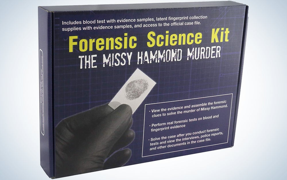 Crime Scene Forensic Science Kit: Solve the Missy Hammond Murder