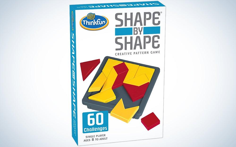 Shape by Shape Creative Pattern Logic Game